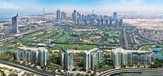 UAE Golf: Emaar launches The Hills, elegant golf course-view apartments in Emirates Living   UAE Golf News