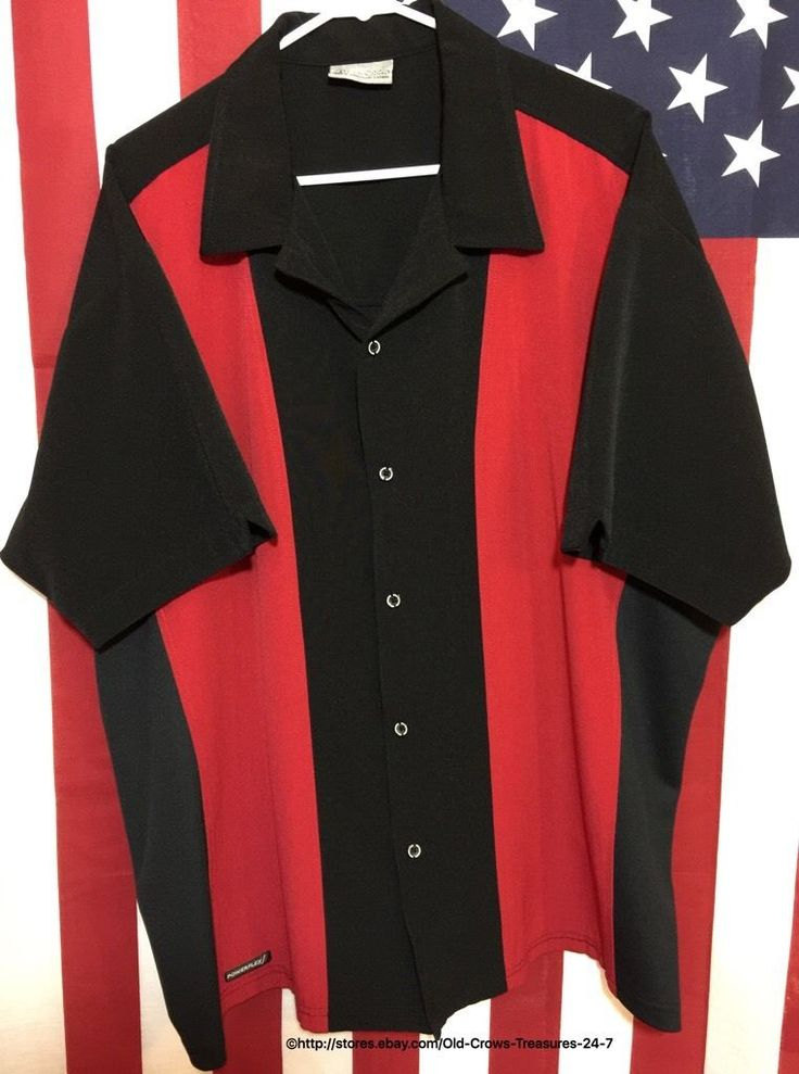 Men's XXXL Boardroom Powerflex Short Sleeve Retro Bowling Shirt | eBay