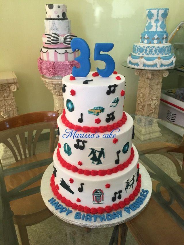 Best For Men Cake Images On Pinterest Men Cake Birthday - Rockabilly birthday cake