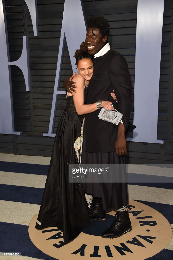 Sasha Lane And Moses Sumney Attend The 2018 Vanity Fair Oscar Party Hosted By Radhika Jones At The Wallis Anne Vanity Fair Oscar Party Host A Party Vanity Fair