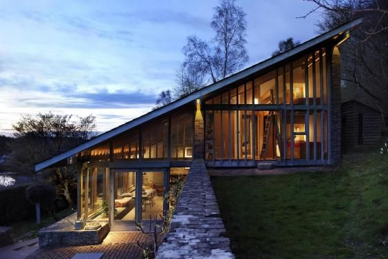 In the first part of a special Grand Designs series on Channel 4, Kevin McCloud reveals two spectacular homes on the shortlist for this year's RIBA House of the Year award.