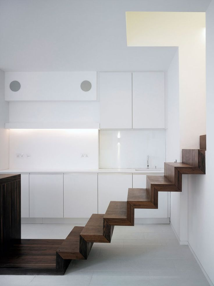 contrasting stairs