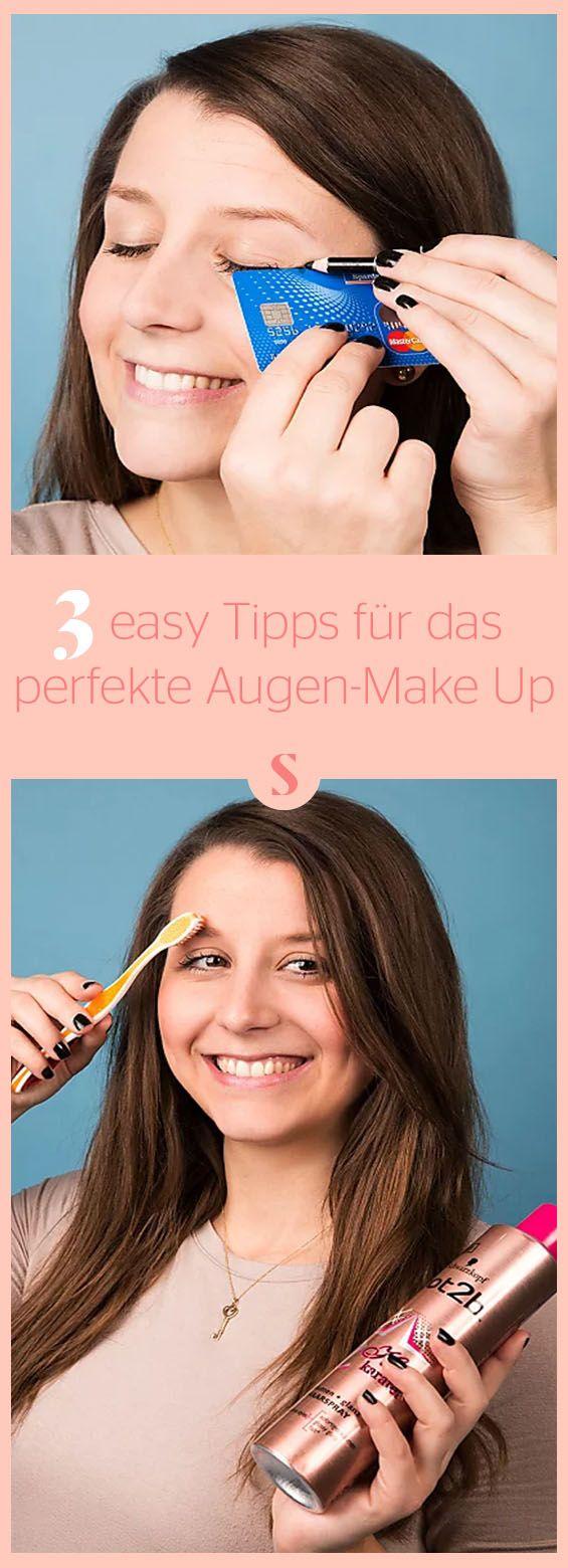 Das perfekte Augen-Make-up: Mit diesen easy Tricks, kriegt es jede hin!