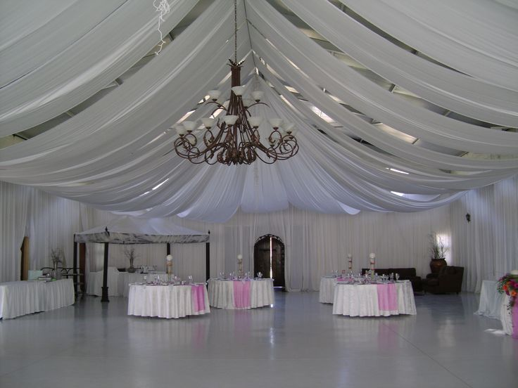 Glamour with draping