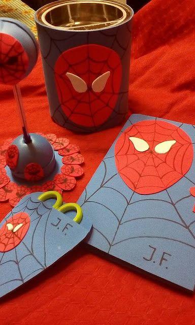 O Estaminé da Xé: Conjunto para criança Homem aranha
