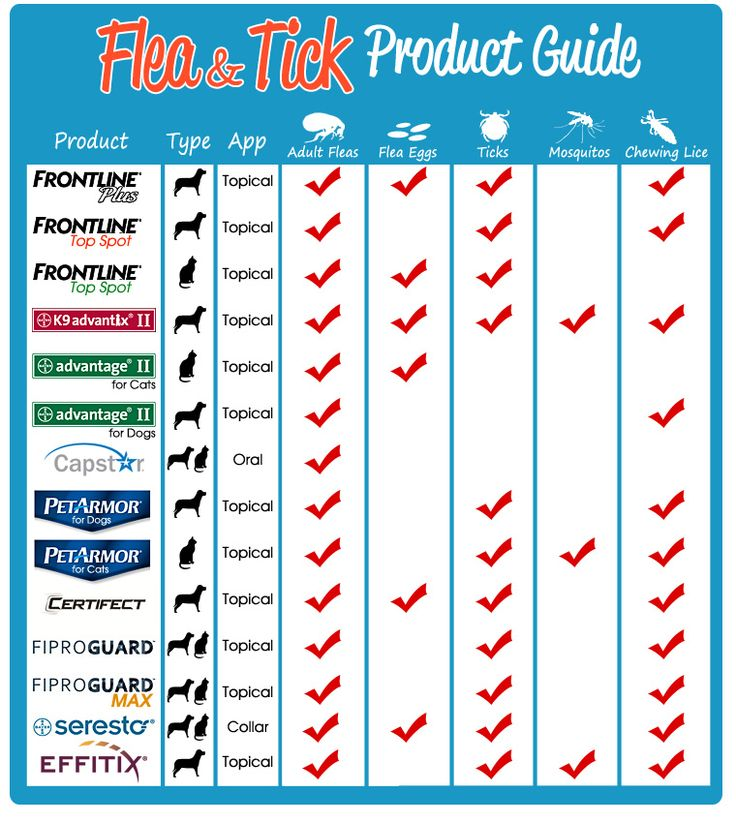 Flea & Tick Product Guide
