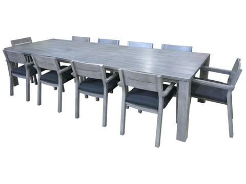 Outdoor Furniture -  Byron 11pc Dining Set