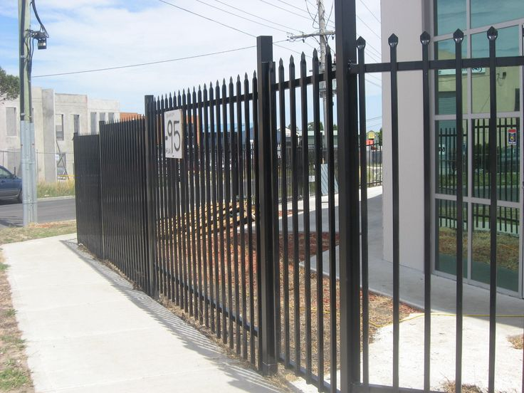 #SteelFencing with pressed spear tops and powdercoated black are often specified where there is a need for high security and a perfect solution for school fencing, kindergartens, child care centres, factory fencing and commercial fencing. Fenceworks provide Security Fencing in Melbourne. Buy at here - http://www.fenceworks.com.au/security-fencing-melbourne.php