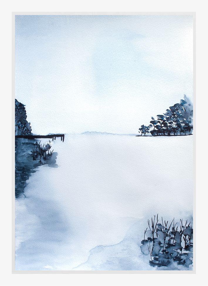 Trine Holbæk – Lakeside https://theposterclub.com/product/trine-holbaek-lakeside/