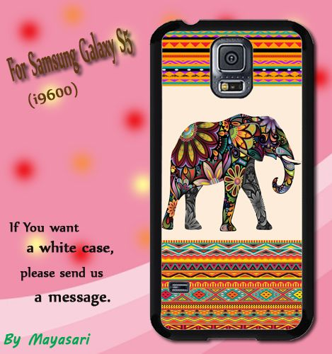 Elephant Aztec Print On Hard Plastic For Samsung Galaxy S5 , Black Case  Description:  Create special case by using your favorite photos or thoughts to inspire and motivate you everyday. Also it's a g