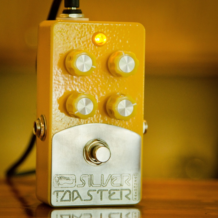 silver toaster overdrive nice transparent low to medium gain od handmade guitar effects. Black Bedroom Furniture Sets. Home Design Ideas