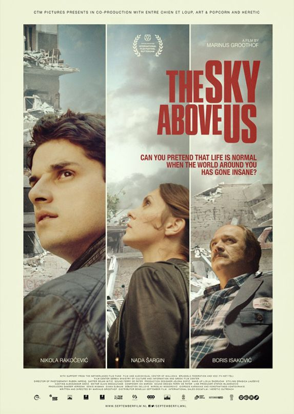 Film poster The Sky Above Us (Marinus Groothof) #IFFR