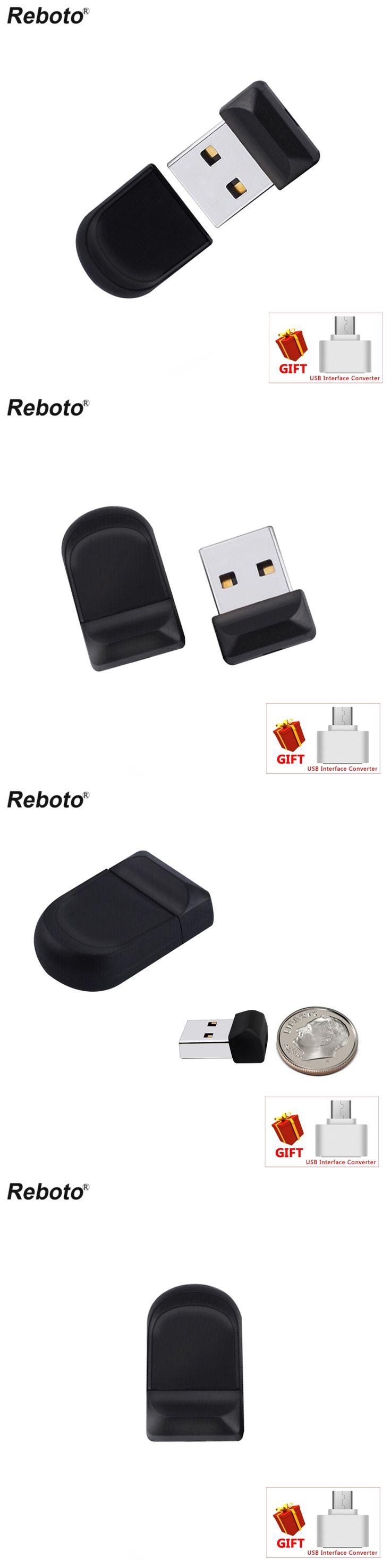 Super Mini Black USB Flash Drive 64GB High Speed Pen Drive 32GB Waterproof Memory Stick 8GB