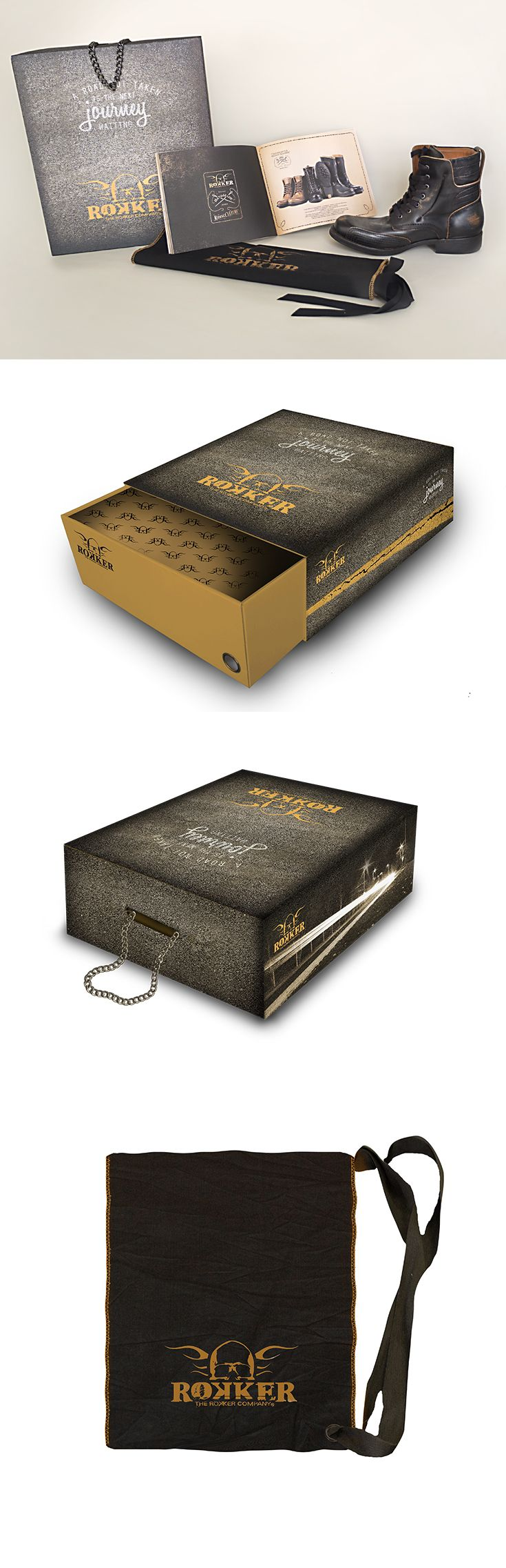 Scatola da scarpe per Rokker, un progetto #effADV - Rokker shoe box, effADV project - #packaging