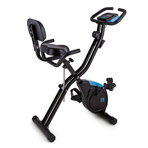CAPITAL SPORTS Azura 2 Bicicleta estática 3 kg Masa oscilante  Compacta bicicleta estática para mantener prudentemente la forma física, estimular la quema de grasas y la movilización. Sillín extraancho con altura regulable, así como respaldo y asas para un entrenamiento cómodo. Masa oscilante de ... http://gimnasioynutricion.com/tienda/bicicletas/estatica/capital-sports-azura-2-bicicleta-estatica-plegable-3-kg-de-masa-oscilante-sillin-extra-ancho-8-niveles-de-resistenc