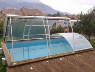 La cubierta practika elevada Abripool es un modelo discreto, práctico, y extremadamente fácil de manipular, que le proporcionará el máximo aprovechamiento de su #piscina con la mejor relación calidad precio.