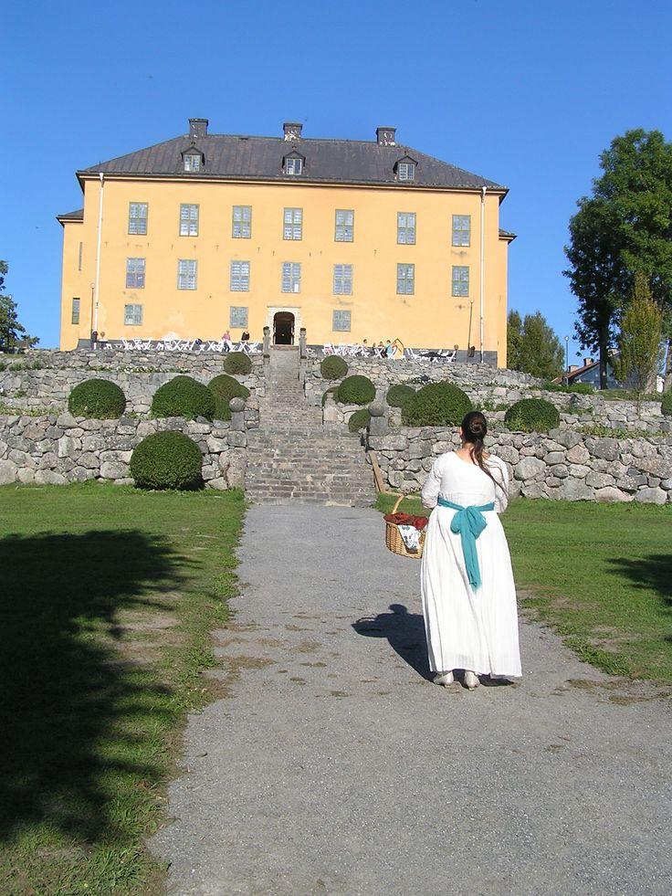 Visiting Wenngarn Castle, September 2014.