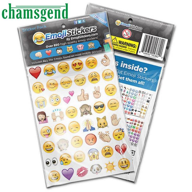 CHAMSGEND Modern CHAMSGEND EMOJIS Drop Pengiriman Emoji Stiker 960 yang PALING POPULER Mainan untuk Anak Anak Drop Pengiriman L16