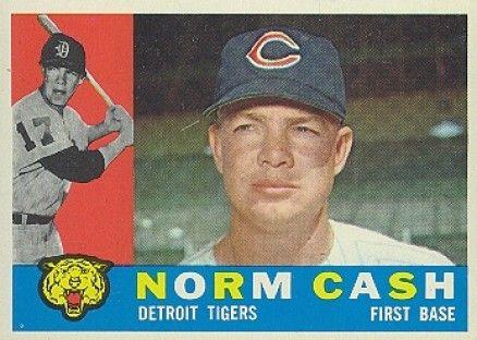 norm cash | People Who Don't Rap But Have Rapper Names: Norm Cash.