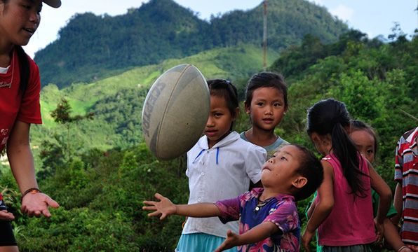 Two Rugby Balls: Rugby has the power to bring communities together and give children skills and confidence. This gift provides two rugby balls to children in Laos, to encourage fitness and play.