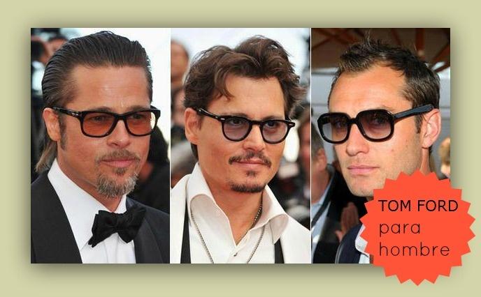 Tres guapos actores con gafas TOM FORD ;)