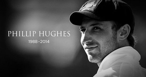 Australian batsman Phillip Hughes died on 27 November at st. vincent hospital in sydney. He was hit by a bouncer on tuesday after this he was hospitalized.
