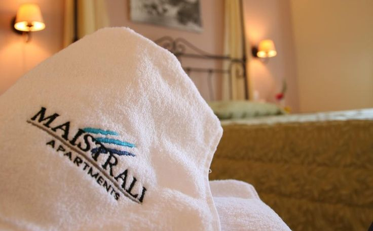 Economy Room offers a classic big wrought iron bed with an extra bed. Modern bathroom offer a sink, shower and toiltries.  http://www.maistrali-apartments.gr/en/maistrali-hotel-economy-double-44.htm