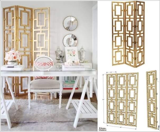 Amazing Home Office Divider Screen Ideas