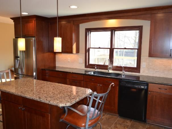 Photo of Brown Dining Room project in Rockford, IL by LaLoggia Construction & Remodeling