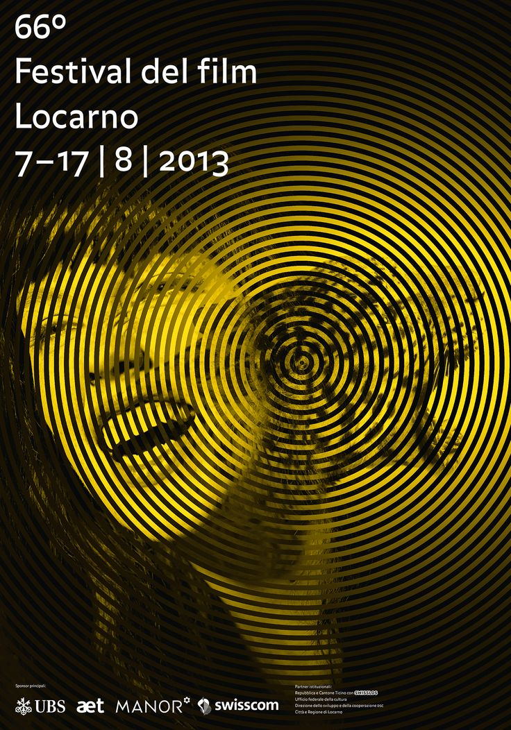 Poster F4 of the 66° Festival del film Locarno