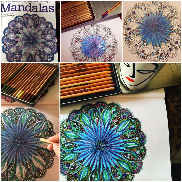 Creative Coloring Mandalas Art Activity Pages To Relax And Enjoy Valentina Harper New Adult Books