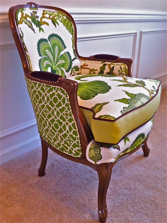 Upcycled Inspiration | #UpcyclingInspiration | Antique Armchair | #AntiqueChair