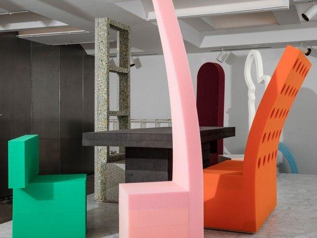 Mousse et espace fictif d'Andy And Dave - Journal du Design