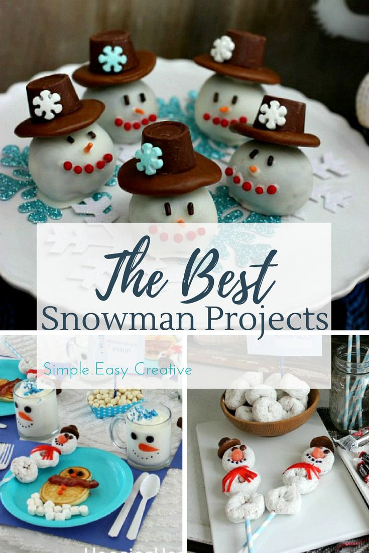 100 Days of Homemade Holiday Inspiration Snowman