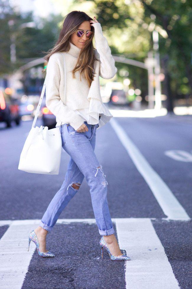 ¿Cómo vestir en Otoño (con una base de vaquero)? La calle responde (via Bloglovin.com )