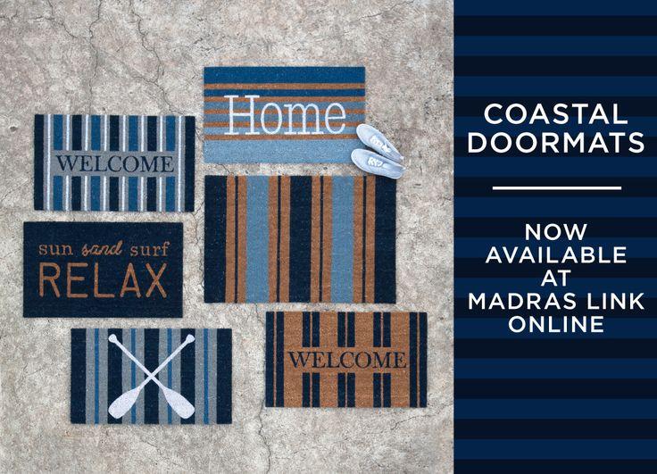 Madras Link Coastal Doormats Now Available Online