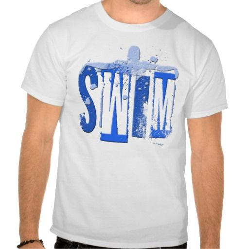 Shop SWIM T-Shirt created by dgpaulart.