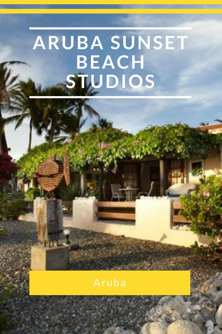 This property is 1 minute walk from the beach. Located on Malmok Beach, Aruba Sunset Beach Studios features an outdoor swimming pool, BBQ facilities and a garden. It offers free Wi-Fi and free private parking.  Aruba Sunset Beach Studios' air-conditioned rooms have a terrace and offer views of the Caribbean Sea or of the garden. They feature a private bathroom and a kitchenette with microwave, refrigerator, oven and stove.  The property offers currency exchange and laundry service. Guests…