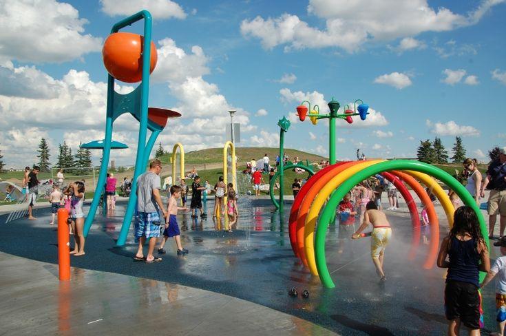 Castle Downs Spray Park