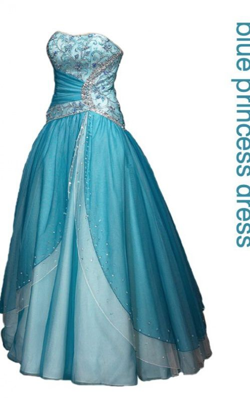 Frozen Prom Dresses Inspired by Elsa's Blue Gown - Davonna Juroe