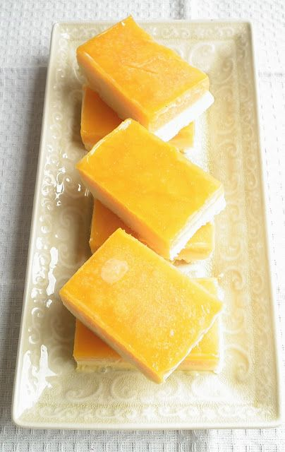 Sugabuttacream: Mango Weiss Bars