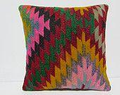 20x20 kilim pillow hippie novelty cushion 20x20 pillowcase southwestern pillow case modern home decor large sofa pillow gypsy cushion 29957