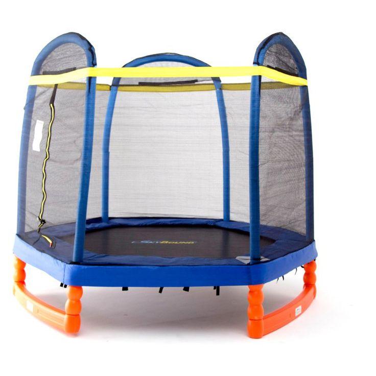 SkyBound Super 7 Trampoline Indoor/Outdoor Trampoline - T0-0880211123