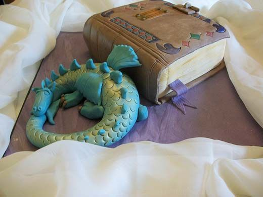 Fairy Tales Book Cake