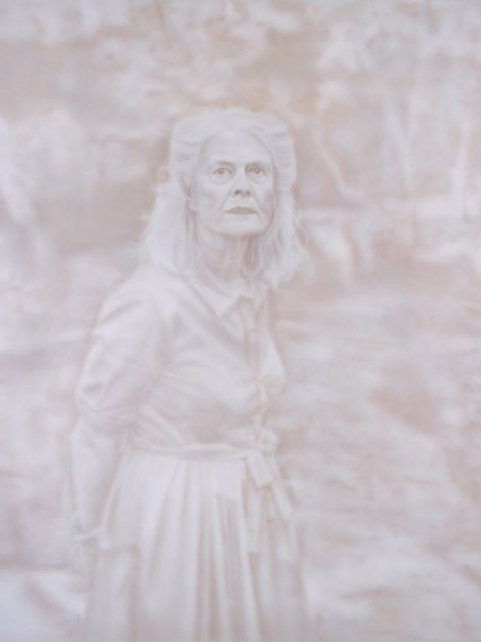 Fiona Lowry's portrait of architect Penelope Seidler is the 2014 Archibald Prize winner.