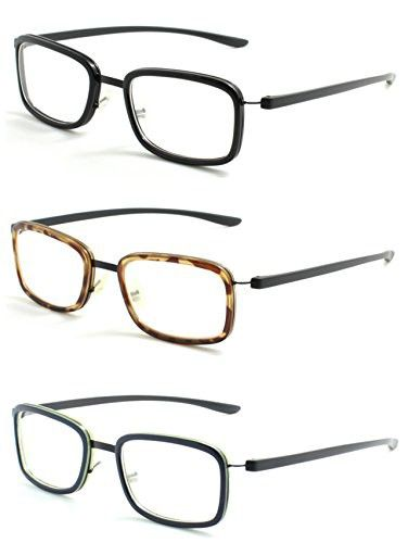 f45e1ebd99 Reading Glasses 3 Pair Readers Great Value Quality Fashion Unisex Glasses  for Reading 1