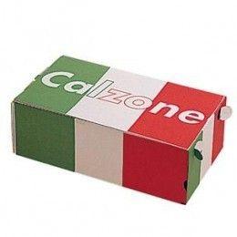 Caja para pizzas calzone, fabricadas en cartón. http://www.ilvo.es/es/product/caja-pizza-calzone