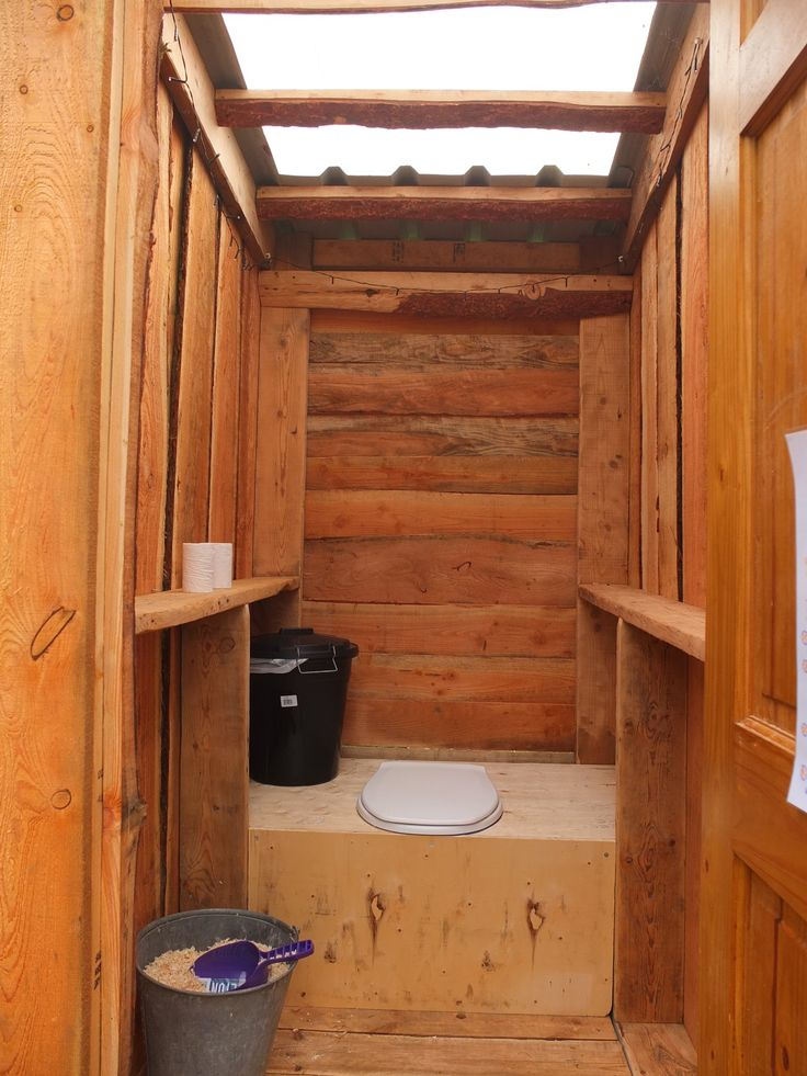 Tidy installation of the Separett Privy 501 on a campsite in Wales. No electricity or water needed :-)