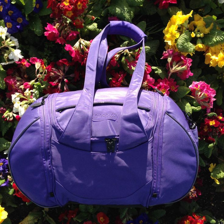 Even ladies gym bags can be pretty! This is the Goddess III gym and travel bag having a floral moment! See the videos at www.workplay-bags.com