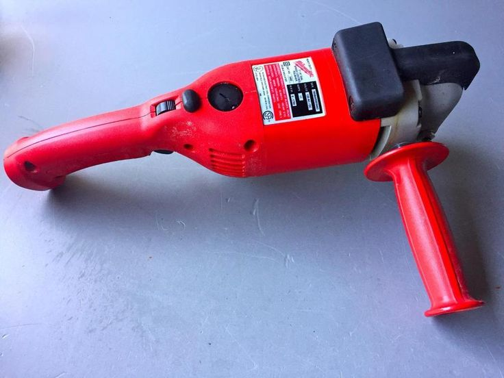 Milwaukee 5460-6 7-Inch/9-Inch Polisher with Electronic Speed Control ~PREOWNED #Milwaukee